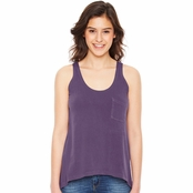 Authentic Pigment Ladie's Summer Pocket Tank