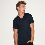 Bella + Canvas Men's Triblend Short-Sleeve V-Neck T-Shirt