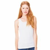 Bella Ladies' Organic 2x1 Rib Tank