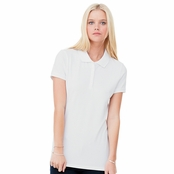 Bella Mini Pique Stretch Polo Shirt