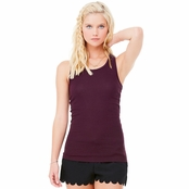 Bella Sheer Ribbed Racerback Tank
