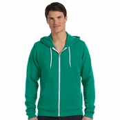 Bella+Canvas Unisex Poly-Cotton Fleece Full-Zip Hoodie