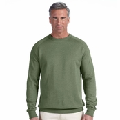 Econscious 7 oz. Organic/Recycled Heathered Fleece Crew