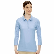 Extreme Ladie's 3/4 Sleeve Stretch Jersey Polo