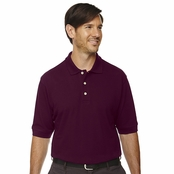 Extreme Men's 100% Cotton Pique Polo Shirt