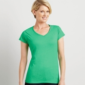 Gildan Ladies' SoftStyle V-Neck T-Shirt