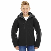North End Glacier Youth Insulated Soft Shell Jacket With Detachable Hood