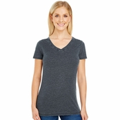 Threadfast Apparel Ladie's Vintage Dye Short-Sleeve V-Neck Tee