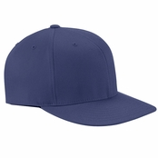 Yupoong Wooly Twill Pro Baseball On-Field Cap with Flat Bill
