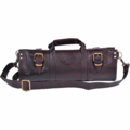Boldric 17pc Leather Knife Bag