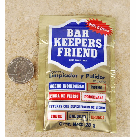 Barkeeper's Friend Try Me Sample