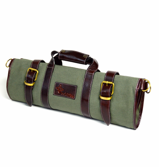 Boldric Canvas Knife Bag Large