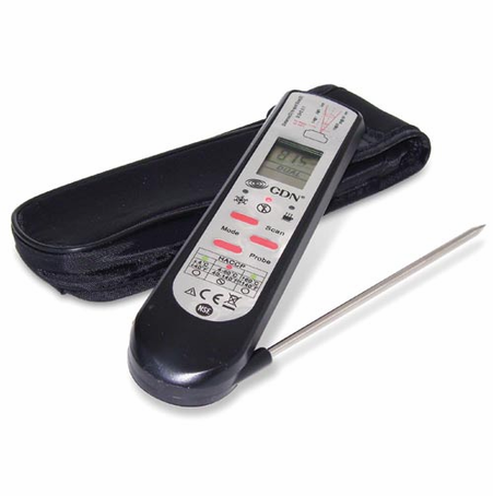 CDN Pro Accurate Infrared/Thermocouple Probe Thermometer