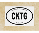 CKTG Bumper Sticker