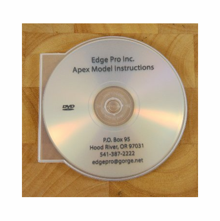Edge Pro Apex Instructional DVD