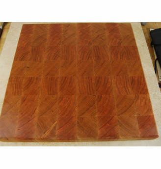 End Grain Cherry Cutting Board 13