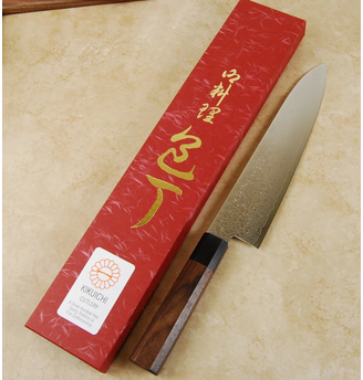 Kikuichi Swedish Warikomi Damascus Gyuto 210mm