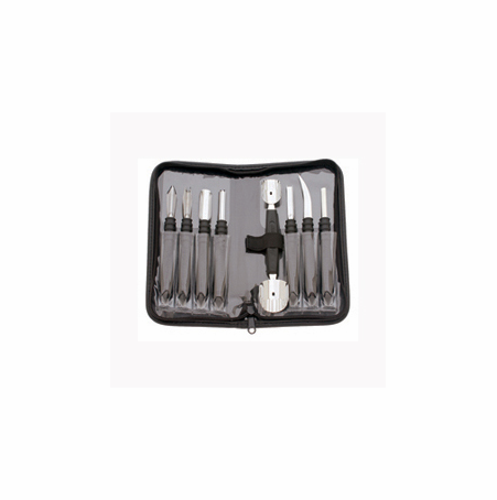 Messermeister 9pc Garnishing Tool Set