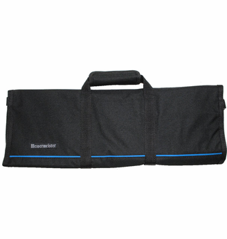 Messermeister Black Knife Roll 12 Piece