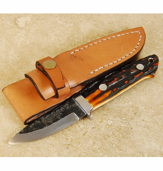 Takeda Sheath Knife 3 inch Stag