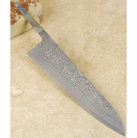 Tanaka R-2 Damascus Gyuto 210mm No Handle