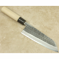 Tojiro Hammered Carbon Santoku 165mm
