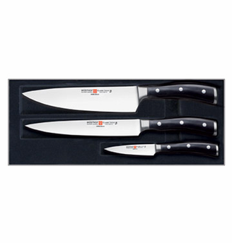 Wusthof Ikon 3 pc Knife Set CLOSEOUT