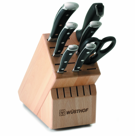 Wusthof Ikon 6 Pc Block Set