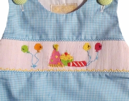 Smocked Birthday Outfit for Girls By Alennys.