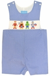Anavini Smocked Avengers John John with Iron Man, Thor, Hulk & Captain America