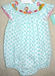 Anavini Smocked Mermaids Bubble