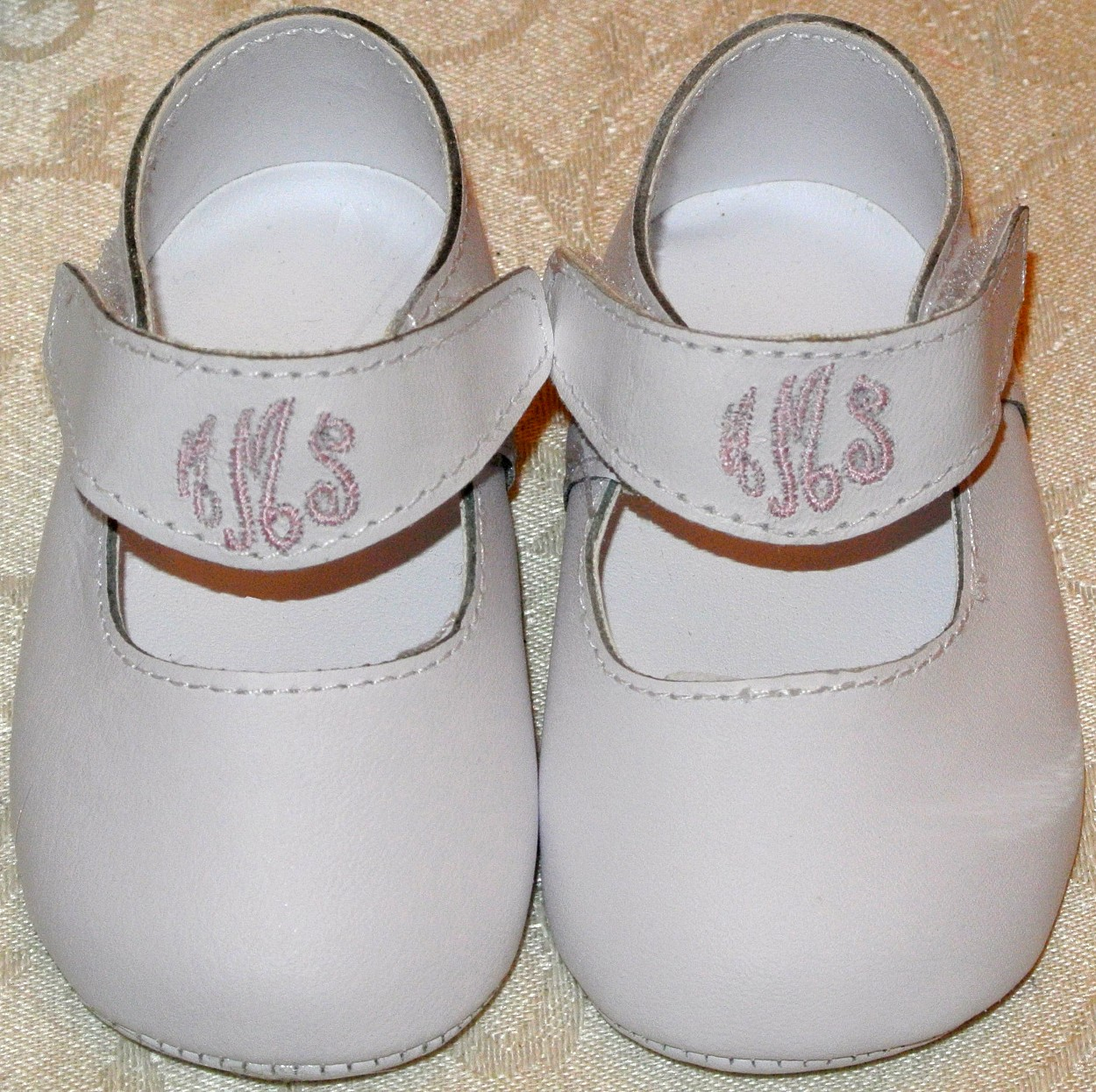 Monogrammed Baby Shoes, Personalized Shoes for Babies Girls Boys