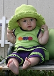 Monogrammed Baby Sun Hats, Personalized Sun Hats for Girls & Boys