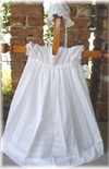Rosalina Christening Baptism Gown And Bonnet For Girls & Boys.