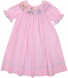Claire & Charlie Smocked Cinderella Dress