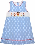 Claire & Charlie Smocked Snow White Dress