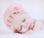 Crochet Skull Caps Hats For Babies and Girls