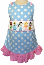 Girl's Disney Princesses Dress or Outfit with Ariel, Cinderella, Jasmine, Sleeping Beauty and Snow White