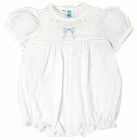 Feltman Brothers Baby Girl's Floral Leaf and Bow Bubble