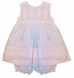 Feltman Brothers Baby Girl's Pink Sleeveless Dress and Bloomers