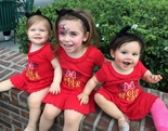 Girl's Disney Minnie Mouse Custom and Smocked Dresses & Personalized Girls Minnie Mouse Dresses & Outfits