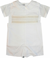 Boy's Heirloom Smocked Bradley and Blouse by Highland Porch