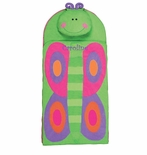 Monogrammable Butterfly Nap Mat for Toddler Girls Day Care Preschool and Kindergarten