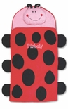 Monogrammable Ladybug Nap Mat or Sleeping Bag