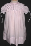 Girl's Heirloom Dress, Pleated Collar Light Pink, Portraits, Special Occasions