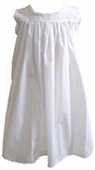 Girl's Heirloom Slip, White Beach Portrait Dress.
