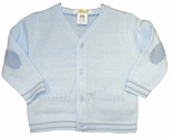 Boy's Blue Sweater By Petit Ami.