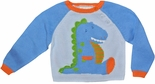 Boy's Dinosaur Sweater & Matching Hat for Baby Boys by Petit Ami