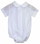 Rosalina Boy's Short Sleeve Blouse Body Suit.