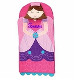 Monogrammable Stephen Joseph Princess Nap mat